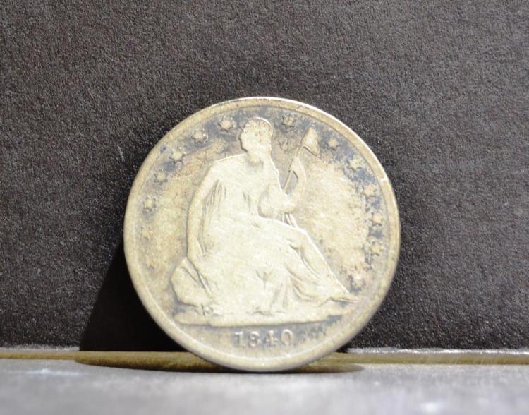 1840-O Liberty Seated Half Dollar VG
