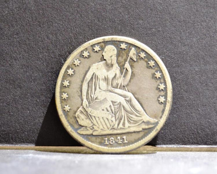 1841-O Liberty Seated Half Dollar VG+