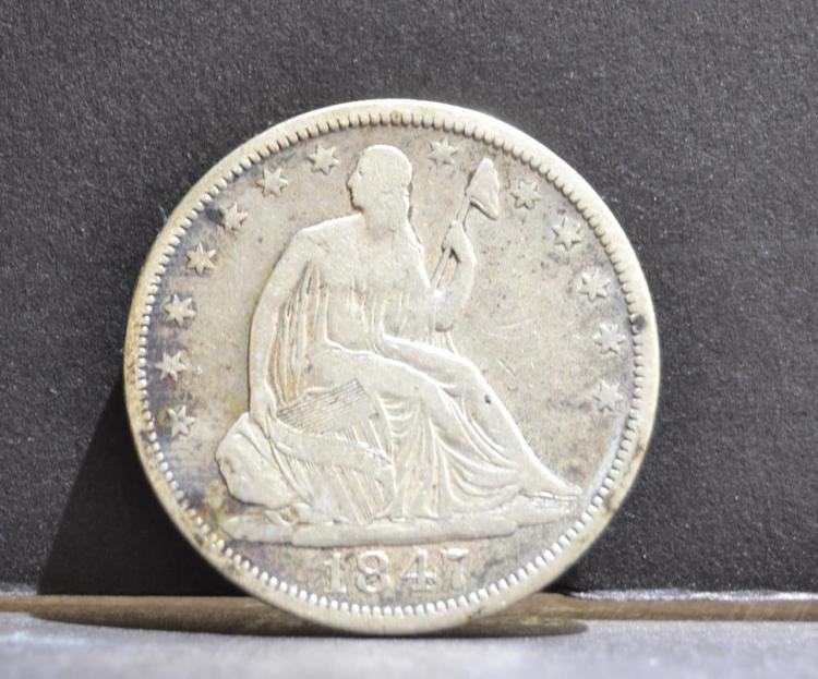 1847-O Liberty Seated Half Dollar VG