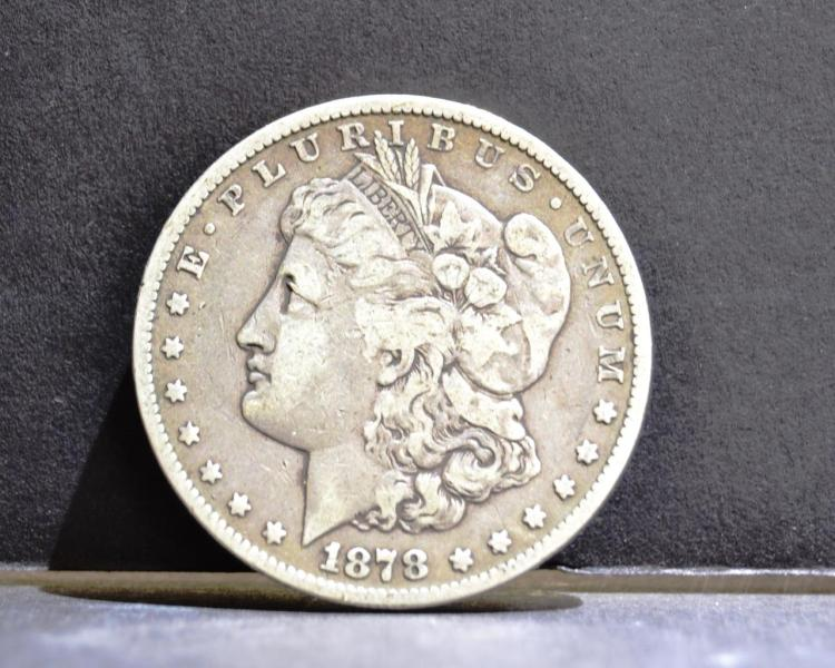 1878-CC Morgan Silver Dollar VG