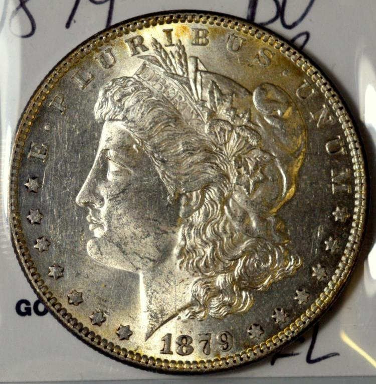 1879 Morgan Silver Dollar BU