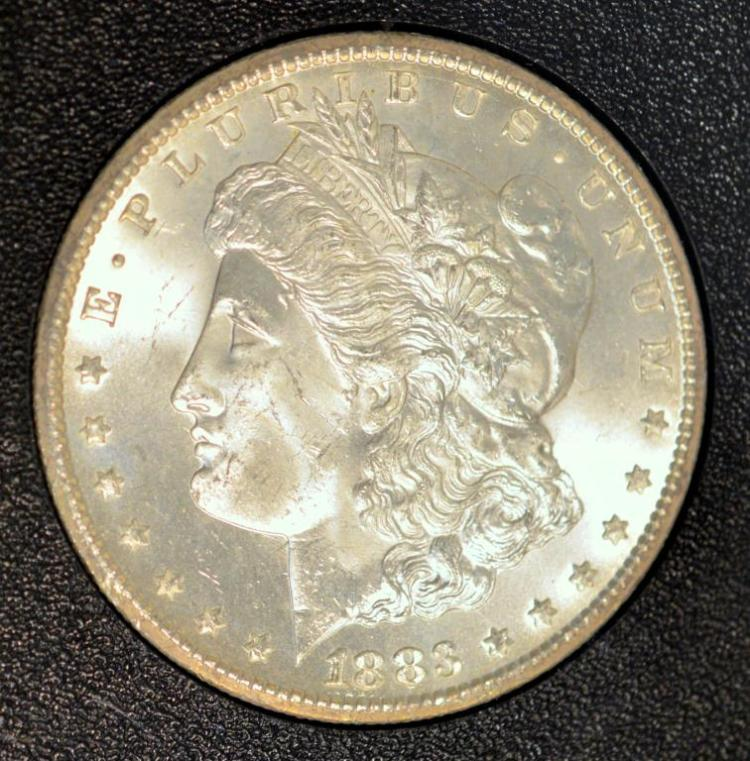 1883-CC Morgan Silver Dollar GSA Hoard NGC MS 65