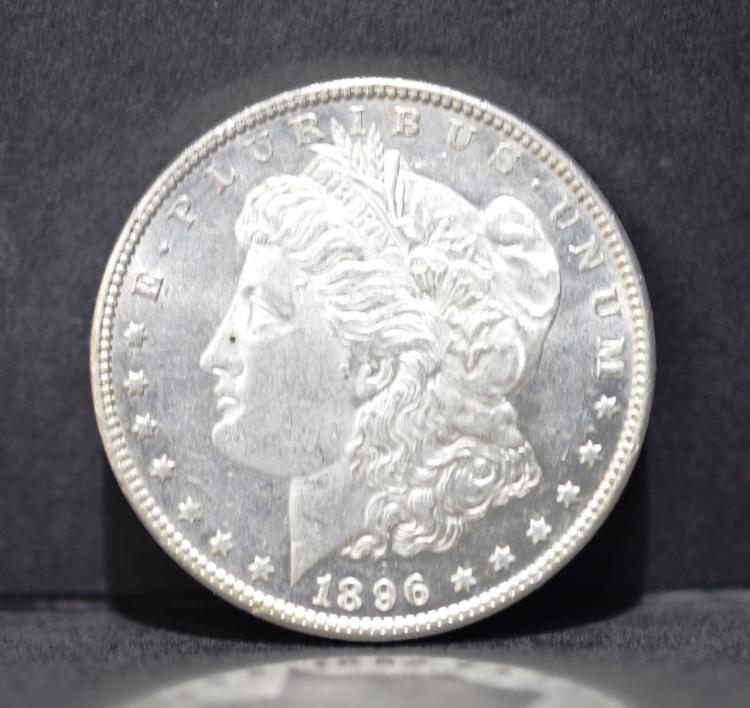 1896 Morgan Silver Dollar BU-62 Proof Like