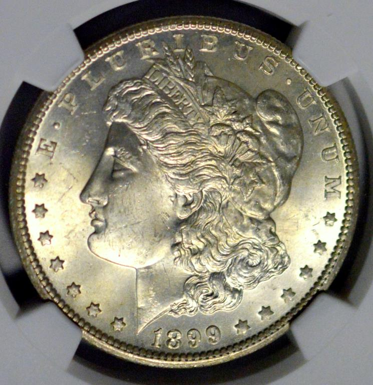 1899-O Morgan Silver Dollar NGC MS 64