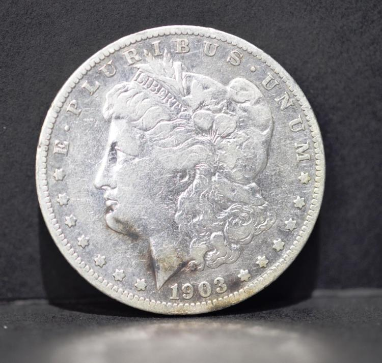 1903-S Morgan Silver Dollar VG