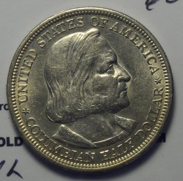 1893 Columbian Half Dollar MS 60