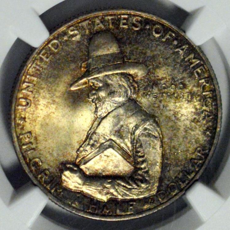 1920 Pilgrim Half Dollar NGC MS 66