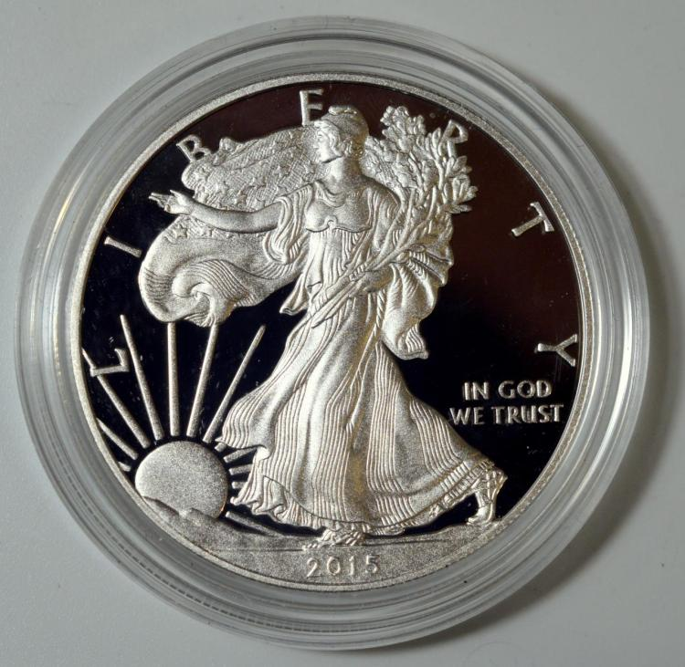 2015-W American Silver Eagle Proof
