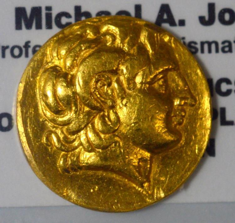 323-281 BC Thrace Lysimachus Gold AV Stater