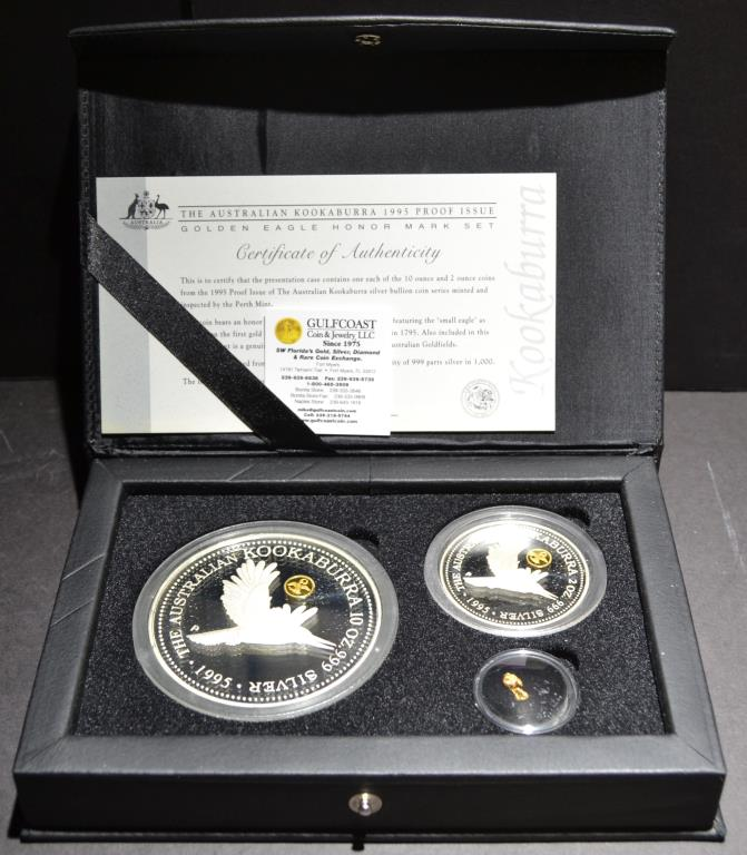 1995 Australian Kookaburra Proof Set