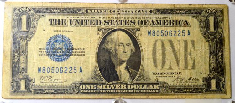 1928-A $1 Silver Certificate