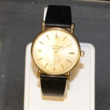 10k goldfilled Girard Perregeau Watch