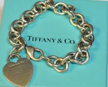 Sterling Heart Bracelet Tiffany & Co