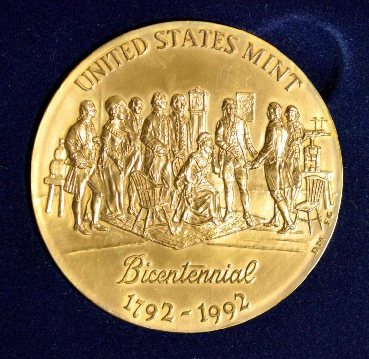 United States Mint Bicentennial Bronze Medal 3