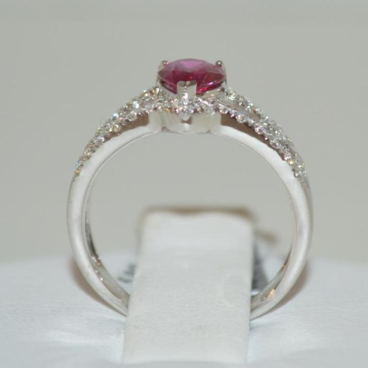 Platinum ruby and diamond ring for Gulf coast coin and jewelry