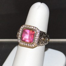 Sterling Pink Tourmaline Ring By John Hardy