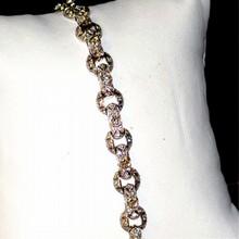 14kwg Diamond Bracelet 3.5ctw