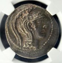 106/5 BC Attica Athens AR Tetradrachm NGCXF 16.72g