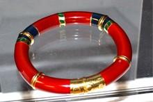 18kyg La Novelle Enamel Bracelet