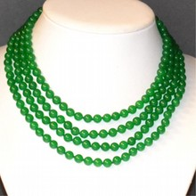 4 Strand Jade Necklace