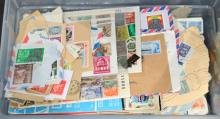 WORLDWIDE STAMPS – USED and ON PAPER
