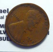 1922-D Lincoln Cent VG