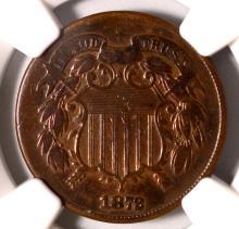 1872 Two-Cent Piece NGC Fine Details I/C