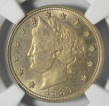 1883 No Cents Liberty Head