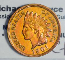 1901 Indian Head Cent BU Cleaned