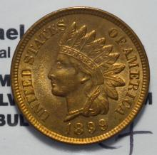 1899 Indian Head Cent BU Cleaned
