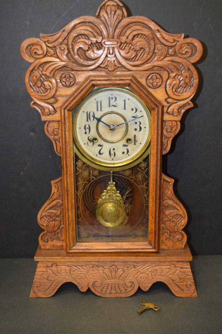 Antique carved wooden clock - Antique clock designs for your home ...