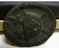 Nazi Wound Badge Black Pin