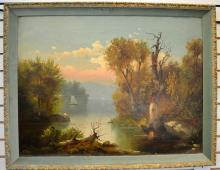Early Oil on Canvas, Landscape