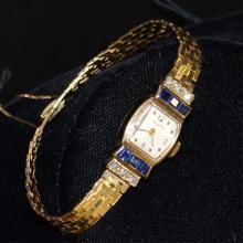 Vintage 14kyg Movado Diamond Watch