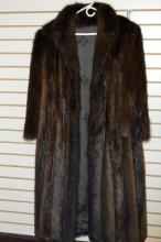 Full Length Beaver Fur Coat