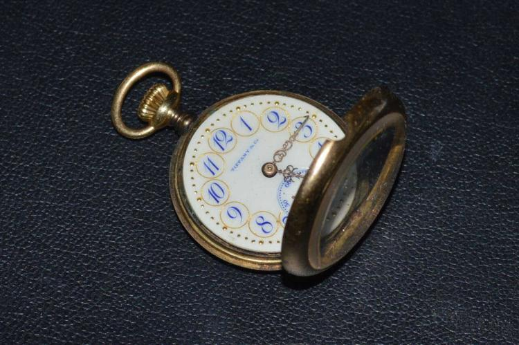 Vintage 18kyg tiffany pocket watch for Gulf coast coin and jewelry