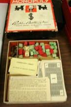 Lot of Vintage Board Games - Monopoly, Finance++