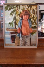 Portrait of a Young Boy by Carol R. Cabeen