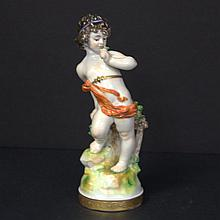 Capodimonte Figure of a Cherub