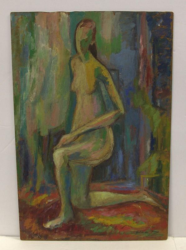 Yolanda Fusco Abstract Nude