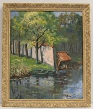 Pere Arribas Oil Painting on Canvas