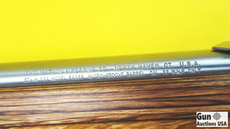 Marlin 883SS Bolt Action  22 WMR cal  Rifle  Like New Condit
