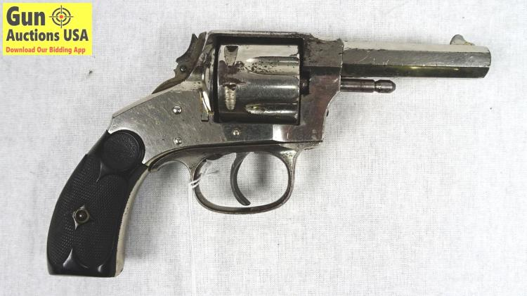 Hopkins Allen Arms Co Xl Double Action 32 Cal Revolver