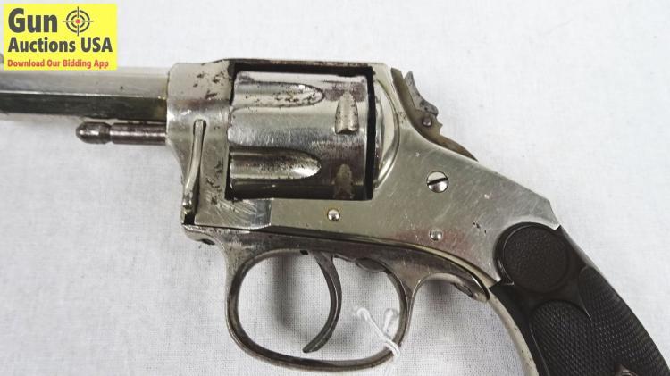 HOPKINS & ALLEN ARMS CO  XL DOUBLE ACTION  32 Cal  Revolver