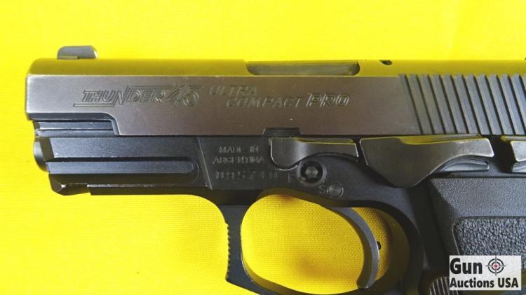 Bersa Thunder 45 Ultra Compact PRO 45ACP Semi Auto Pistol  V