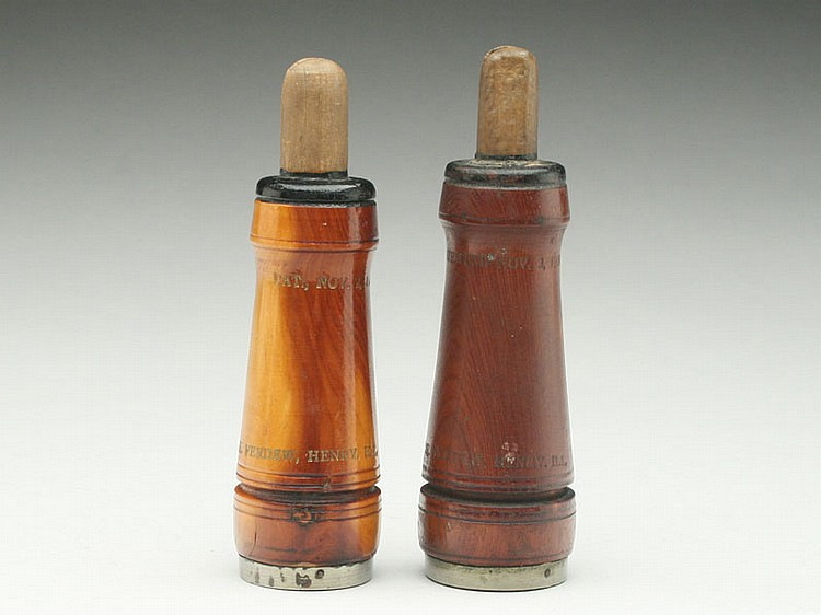 Two crow calls, Charles Perdew, Henry, Illinois, 1st quarter
