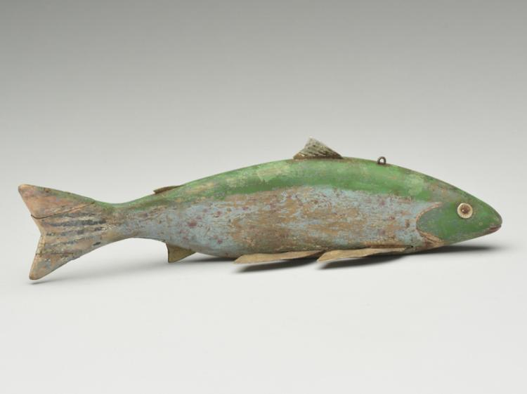 Fish decoy, Alex Meldrum, Mount Clemens, Michigan.