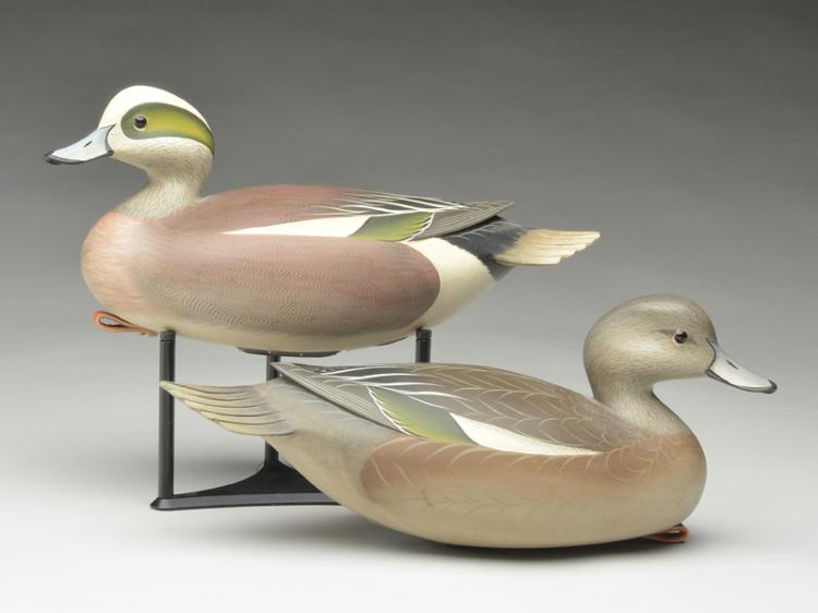 Pair of widgeon, George Strunk, Glendora, New Jersey.