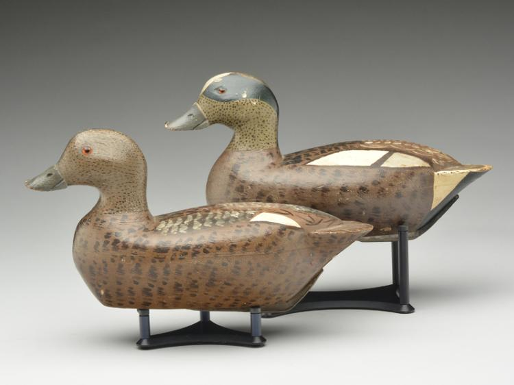 Pair of widgeon, George Kessler, Pekin, Illinois.