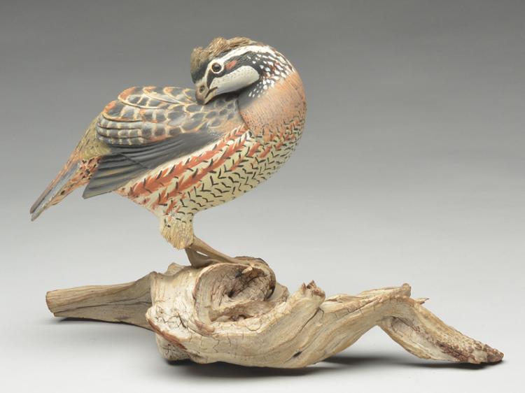 Large standing quail, David Ward.